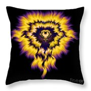 Julia Fire Throw Pillow