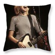 Juliana Hatfield Throw Pillow