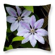 Julia's Bouquet   #6321 Throw Pillow