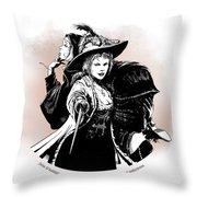 Julie D' Aubigny Throw Pillow