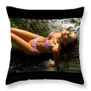 Julie Lay Waterfall Throw Pillow