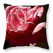 Julie Pinked Throw Pillow