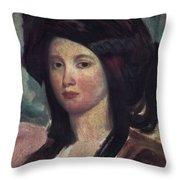 Juliette Drouet (1806-1883) Throw Pillow