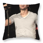 Julio Iglesias Throw Pillow