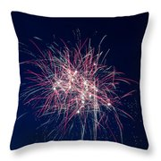 July 4th 2014 10 Throw Pillow