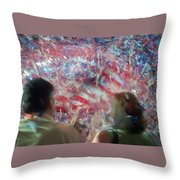 July Fourth Finale Throw Pillow