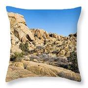 Jumbo Rocks Throw Pillow