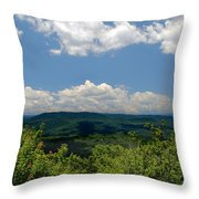 Jump Off Rock Throw Pillow