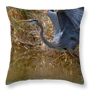 Jump Start Throw Pillow