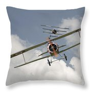 Jumped Throw Pillow
