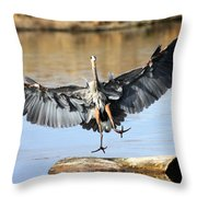 Jumping For Joy Throw Pillow
