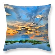 June 2013 Nwfl Sunset I Throw Pillow