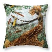June Breeze Throw Pillow