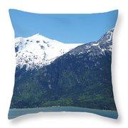 Juneau Port 2 Throw Pillow