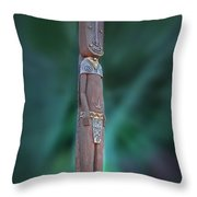 Jungle Bear Throw Pillow