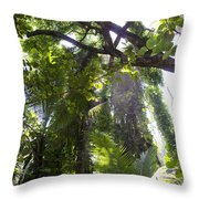 Jungle Canopy Throw Pillow