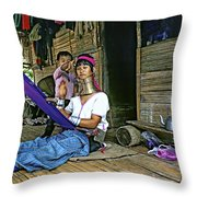Jungle Crafts Throw Pillow