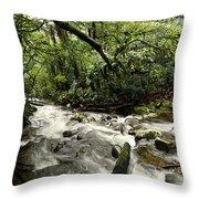 Jungle Flow Throw Pillow