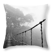 Jungle Journey 5 Throw Pillow