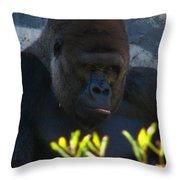 Jungle Master Throw Pillow