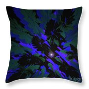 Jungle Night Sky By Jammer Throw Pillow