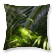 Jungle Web Throw Pillow
