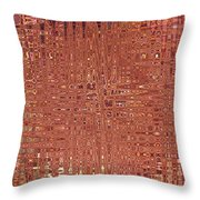 Jungles Of Pink Lines Throw Pillow