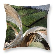 Junk Explosion Throw Pillow