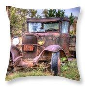Junk Yard Special Throw Pillow