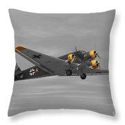 Junkers Ju 52 Throw Pillow