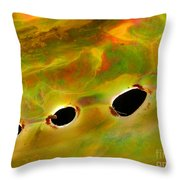Jupiter Of The Sea Throw Pillow
