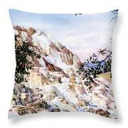 Jupiter Terrace Yellowstone Np Throw Pillow