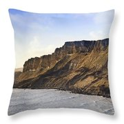 Jurassic Brandy Bay  Throw Pillow by Matthew Gibson