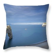 Jurassic Coast - Durdle Door Throw Pillow