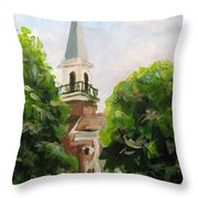 Just A Closer Walk With Thee Throw Pillow