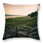 Just A Few More Steps To The Lake Throw Pillow