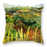 Just A Little Valley Throw Pillow