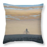 Just A Shadow Of Myself Throw Pillow