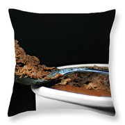 Just A Spoonful Throw Pillow by Diana Angstadt