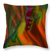 Just A Thought II Throw Pillow