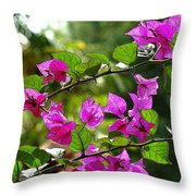 Just A Touch Throw Pillow