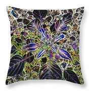 Just A Weed					 Throw Pillow