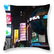 Just Above The Crowds Throw Pillow