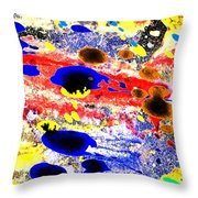 Just Abstract Throw Pillow