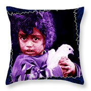 Just Another Dirty Face Throw Pillow