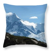 Just Another Snow-capped Mt Throw Pillow