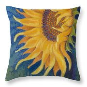 Just Another Sunflower Throw Pillow