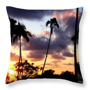 Just Another Sunrise In Paradise Throw Pillow