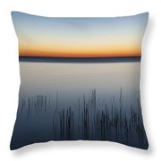 Just Before Dawn Throw Pillow