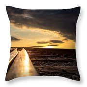 Just Before Sunrise Throw Pillow by Bob Orsillo